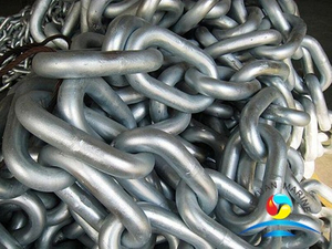 RQ3 Grade High Strength Welded Offshore Studless Mooring Anchor Chain