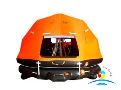 SOLAS Self Righting and Davit Launching Inflatable Life Raft With EC Certificate