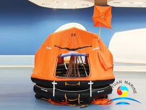 Davit-launching Self-righting Inflatable Life Raft