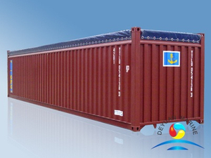 40' Open-Top Dry Cargo Steel Container