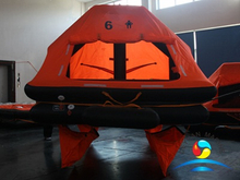 YSR Type 6 Man Throw-overboard Self-righting Yacht Inflatable Liferaft